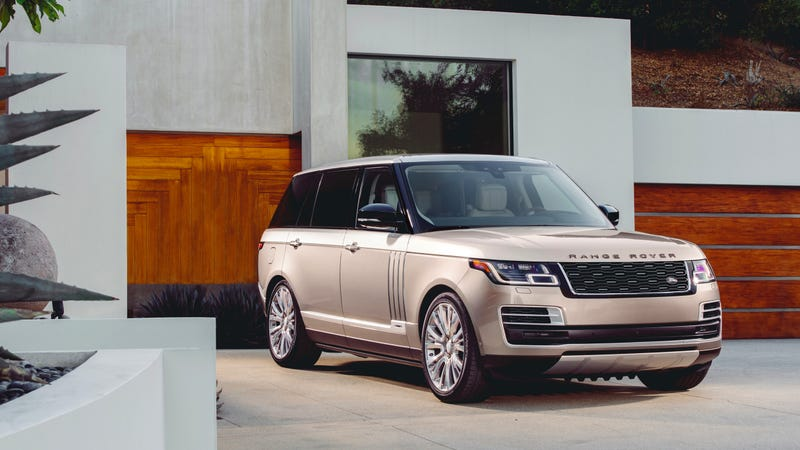 Illustration for article titled The 2018 Range Rover SVAutobiography Is A $207,900 Pool House On Wheels