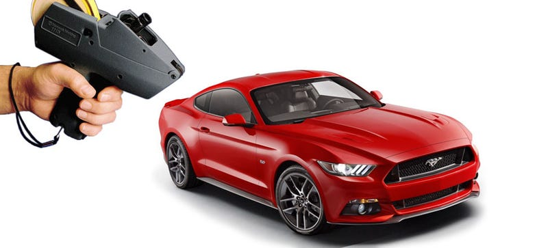 Illustration for article titled The 2015 Mustang EcoBoost Will Start At $25,995, V8 GT At $32,925