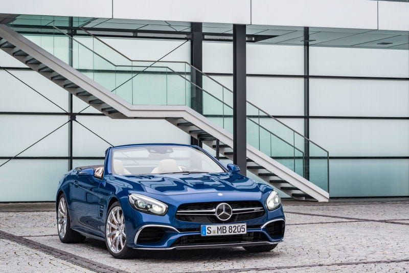 Illustration for article titled Mercedes SL Has Too Wide Of A Range