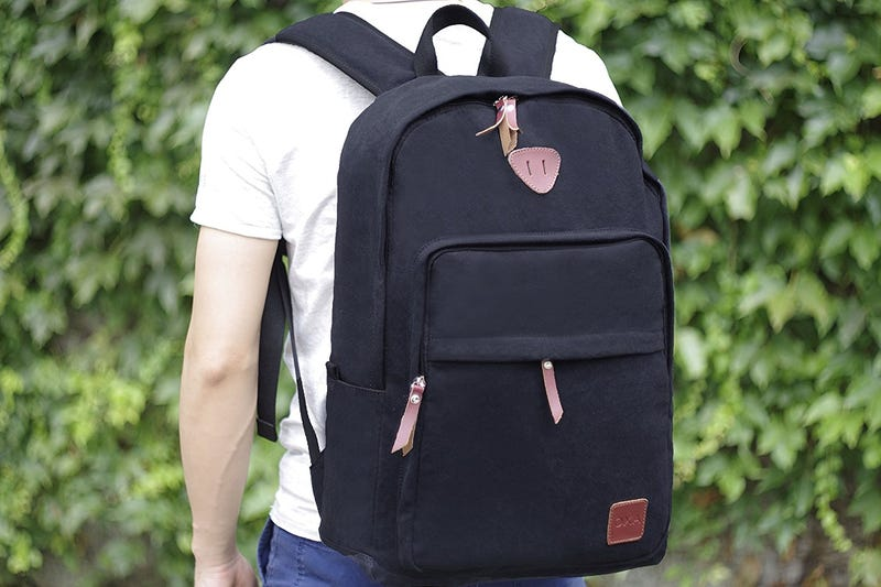 OXA Canvas Laptop Backpack, $14 with code J5J3E62C