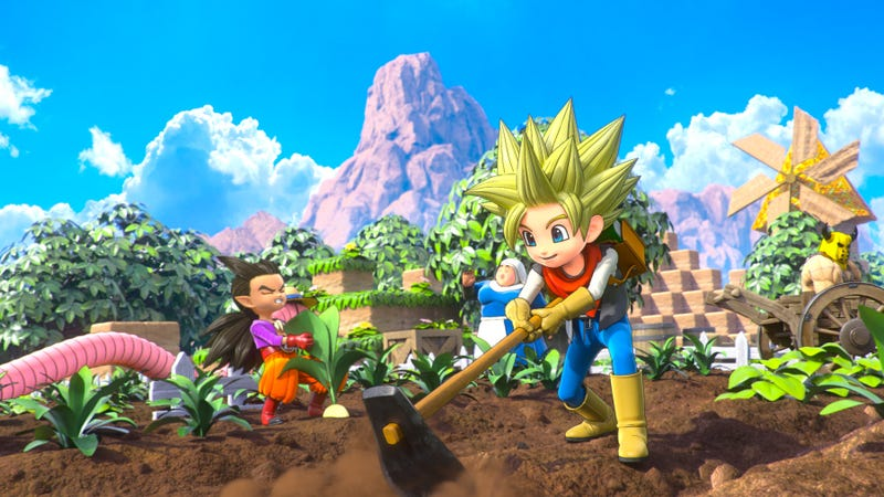 Illustration for article titled Helping People In Dragon Quest Builders 2 Gives Me So Much Joy