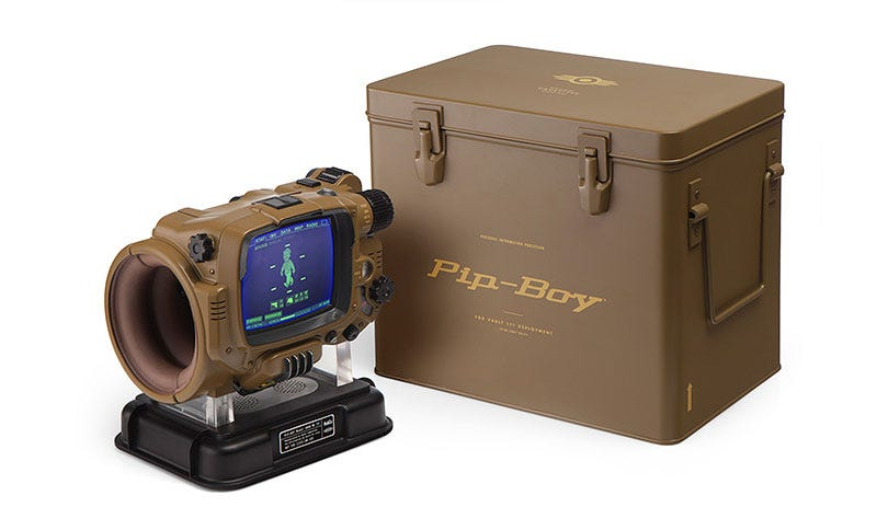 Illustration for article titled $350 Pip-Boy Replica Is Very Fancy