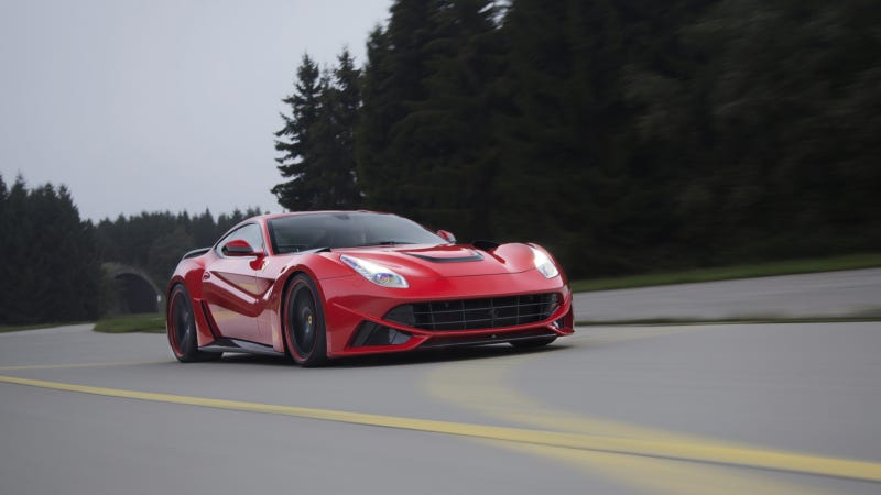 Illustration for article titled Spectacular Widebody Version And 781 HP For Ferrari F12berlinetta