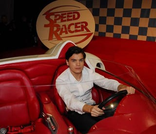 Illustration for article titled Speed Racer Will Be All Fake Except The Monkey