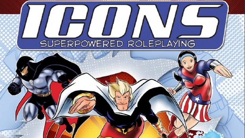 Illustration for article titled Icons RPG Will Have You Playing Your Own Superhero In 15 Minutes