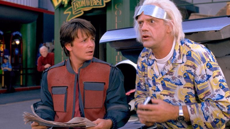 Illustration for article titled October 21, 2015 marks the release of a new Back To The Future documentary