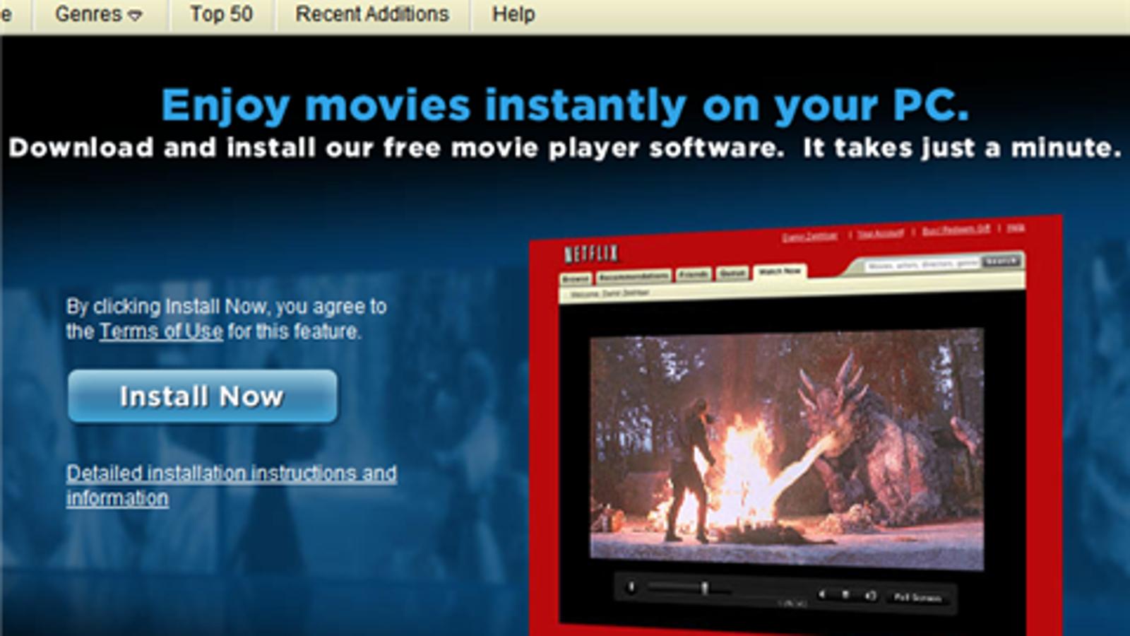 Netflix Sender