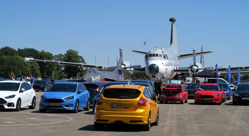 Fords and planes
