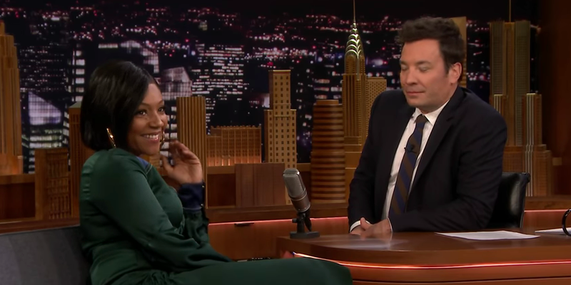 Tiffany Haddish, Jimmy Fallon