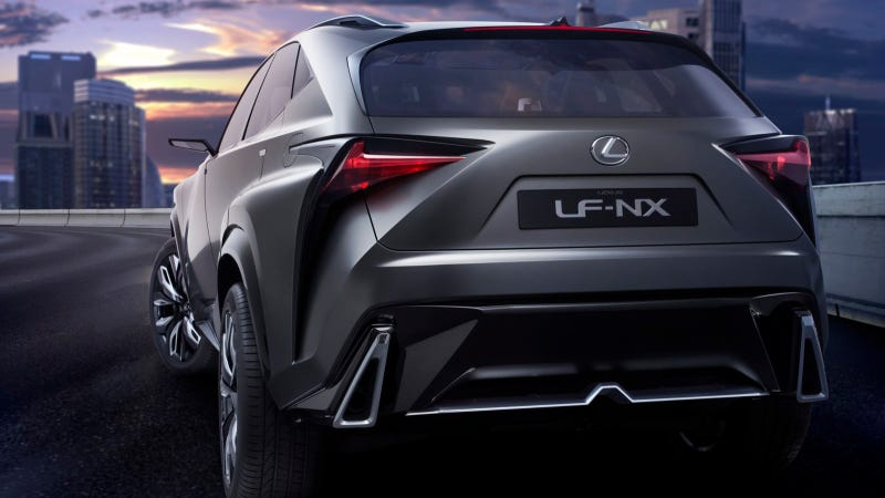 Illustration for article titled Lexus Reveals Turbocharged Lexus LF-NX Concept At Tokyo Motor Show