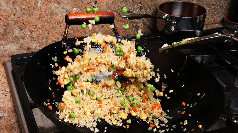 Make perfect fried rice with help from a small fan some people will tell you that you need to use day old rice to make excellent fried rice but thats not exactly true you can achieve the perfect level of ccuart Gallery