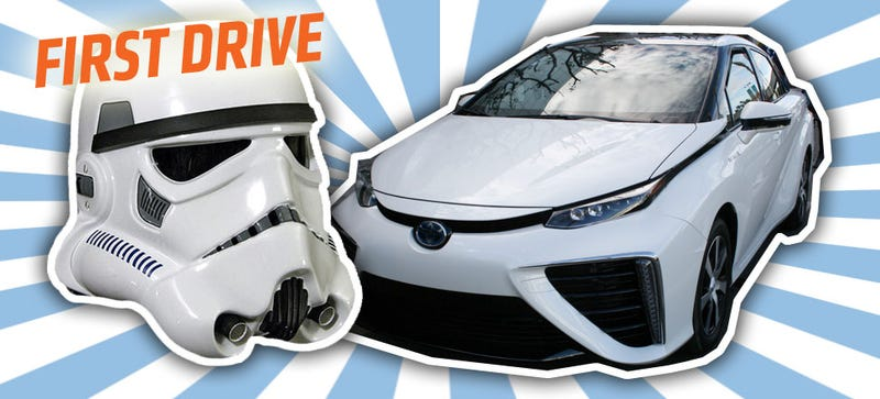 Illustration for article titled The Next Prius? What It's Like To Drive Toyota's $57,000 Hydrogen Car