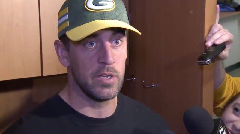 Illustration for article titled Aaron Rodgers Really Didn't Like How Game Of Thrones Ended