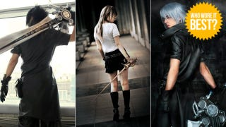Illustration for article titled Final Fantasy Versus XIII Isn't Out, But This Cosplay Is