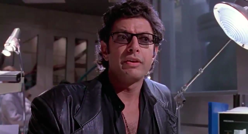 Life, uh, finds a way (Image: Jurassic Park/YouTube)