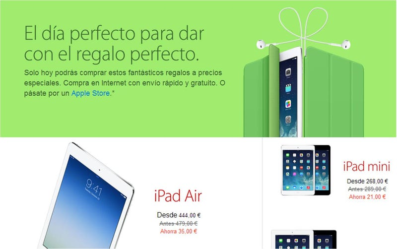 Illustration for article titled Apple se une a los descuentos del Black Friday con buenas rebajas