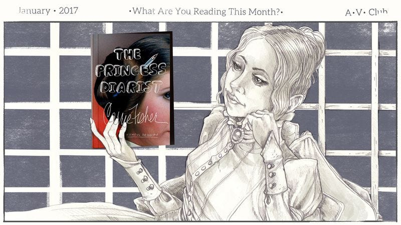 Illustration for article titled What are you reading in January?