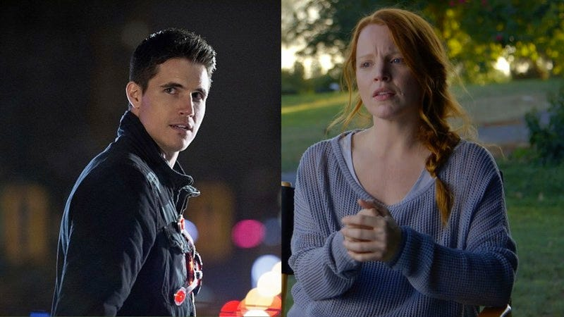 Robbie Amell in The Flash, Lauren Ambrose in Dig