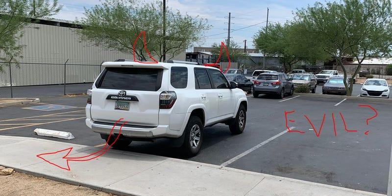 Illustration for article titled Parking Enforcement - Incident #2