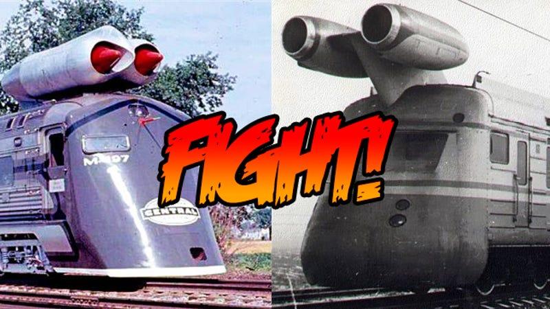 Full Force Diesel >> The Soviet Union vs US Jet Train Race