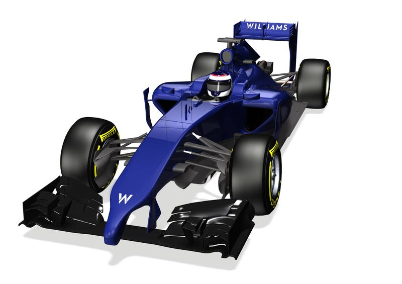 Illustration for article titled First illustration of Williams Mercedes FW36 emerges