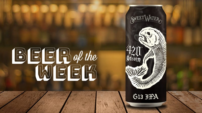 Illustration for article titled Beer Of The Week: SweetWater's G13 IPAisn't just for stoners