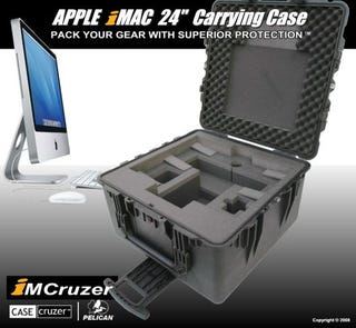 Illustration for article titled Lug a 24-inch iMac with iMCruzer Case