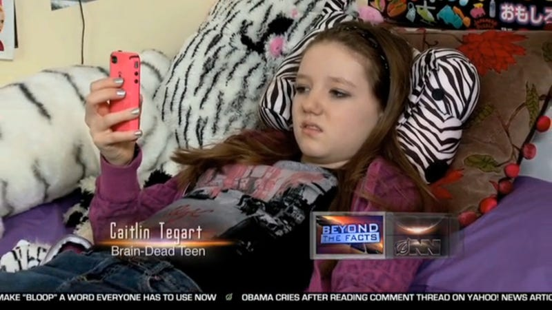 Illustration for article titled Teen Capable Only of Texting to Be Euthanized, Reports The Onion