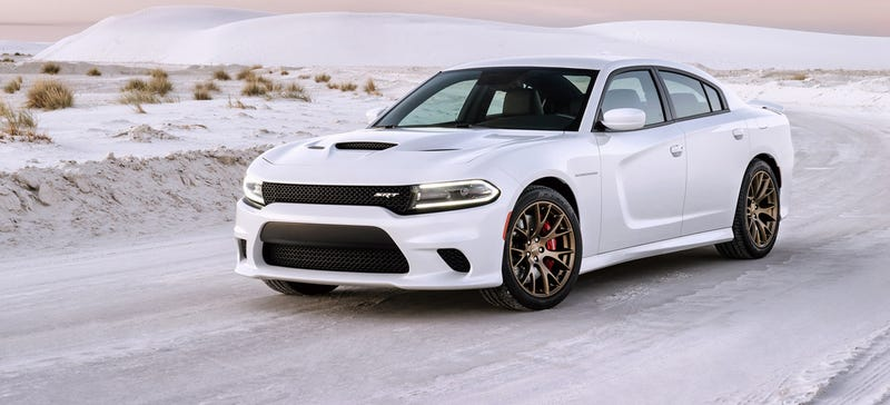 Illustration for article titled The 707 HP Dodge Charger SRT Hellcat: The World's Most Powerful Sedan