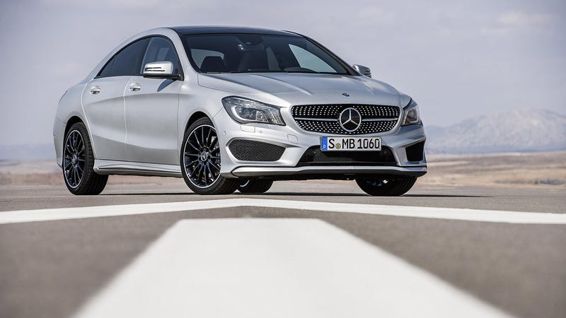 Illustration for article titled 2014 Mercedes-Benz CLA: The Compact CLS You Will Want