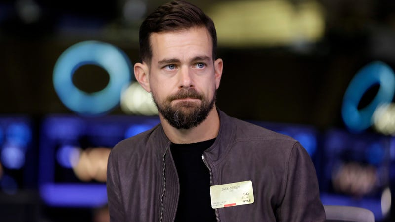 Jack Dorsey, CEO of Twitter and e-payments company Square.