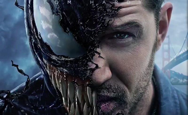 A promo image for Venom