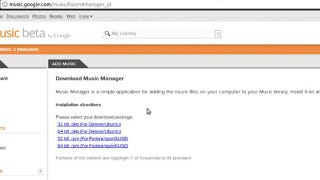 music manager google linux