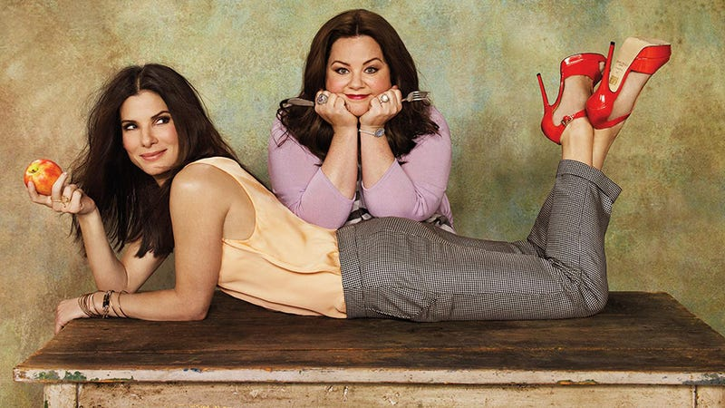 Illustration for article titled Melissa McCarthy and Sandra Bullock Plagued By Working Mom Guilt