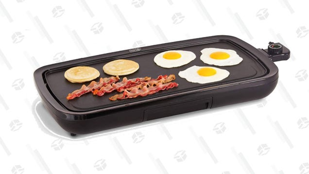 Cook The Breakfast of Your Dreams With a $40 Dash Electric Griddle