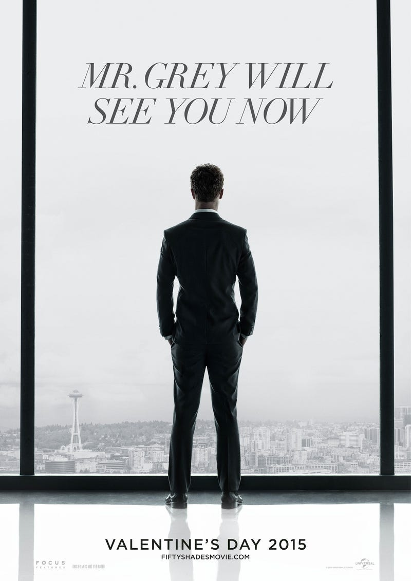Illustration for article titled First Fifty Shades Movie Poster: a Bleak View and a Lonely Salaryman