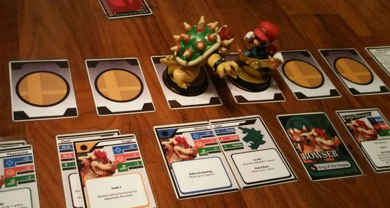 Illustration for article titled Smash Bros. Card Game Uses Amiibo, Looks Awesome