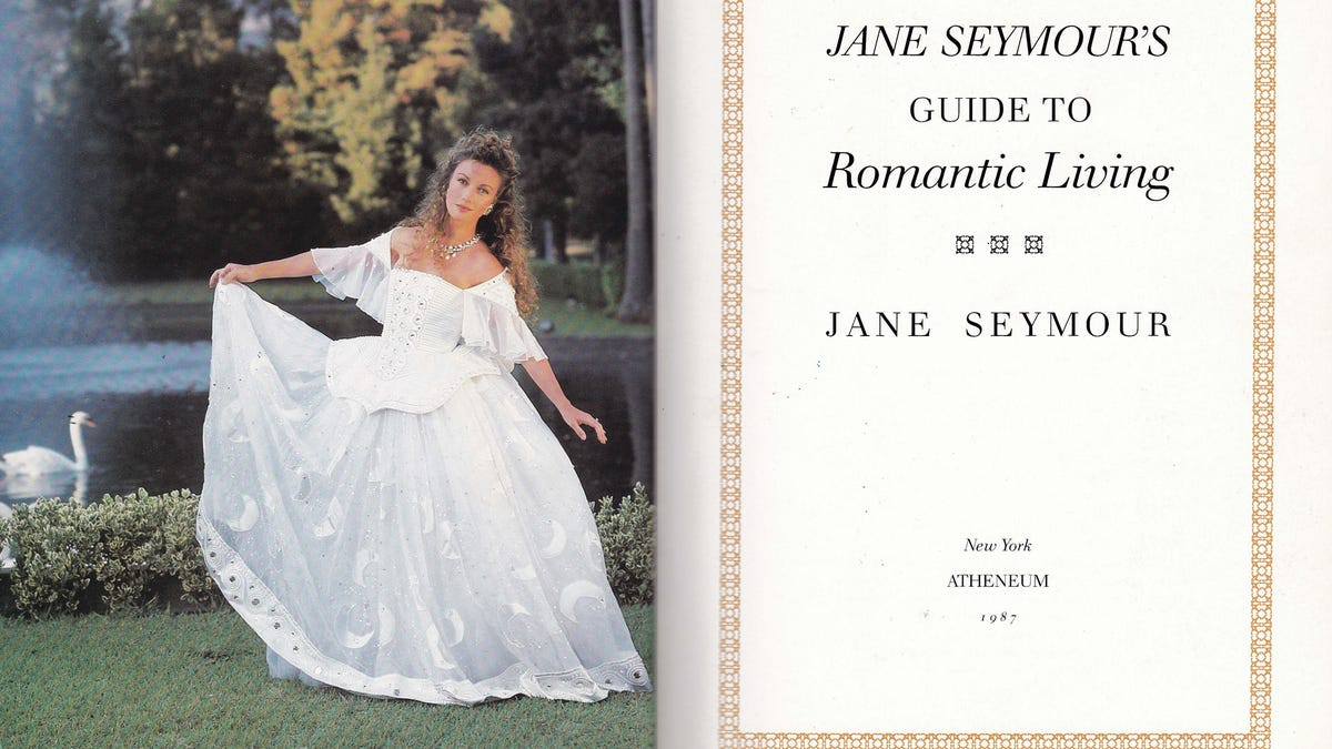 Jane Seymour's Guide to Romantic Living Hoped to Resurrect Romance in the  Desolate '80s