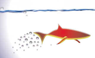 Illustration for article titled Robotic Microfish Can Sense and Remove Toxins From Their Environment