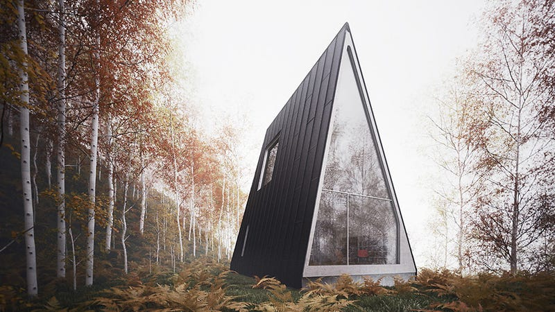 The Whole Point Of A Cabin In The Woods Is To Get Away From It All. And  Somehow The Architect Behind The Allandale House, William Ou0027Brien Jr., ...