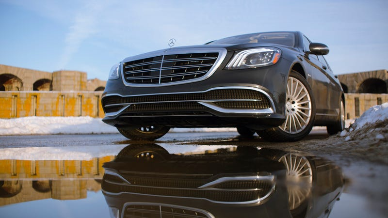 The 2018 Mercedes-Maybach S560 Is How You Make 'The Best Car In The World' Better
