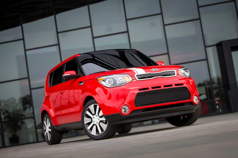 Illustration for article titled Kia's Electric Soul Is A Car And Someone's Potential Album Title
