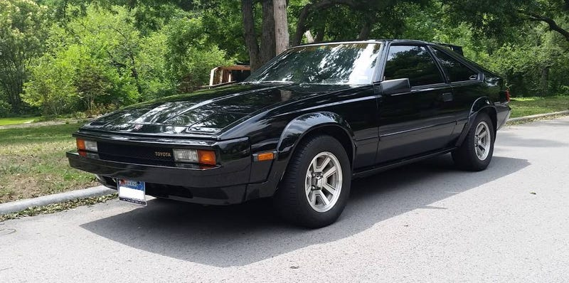 Illustration for article titled Could This 1983 Toyota Celica Supra Be Worth $5,500?