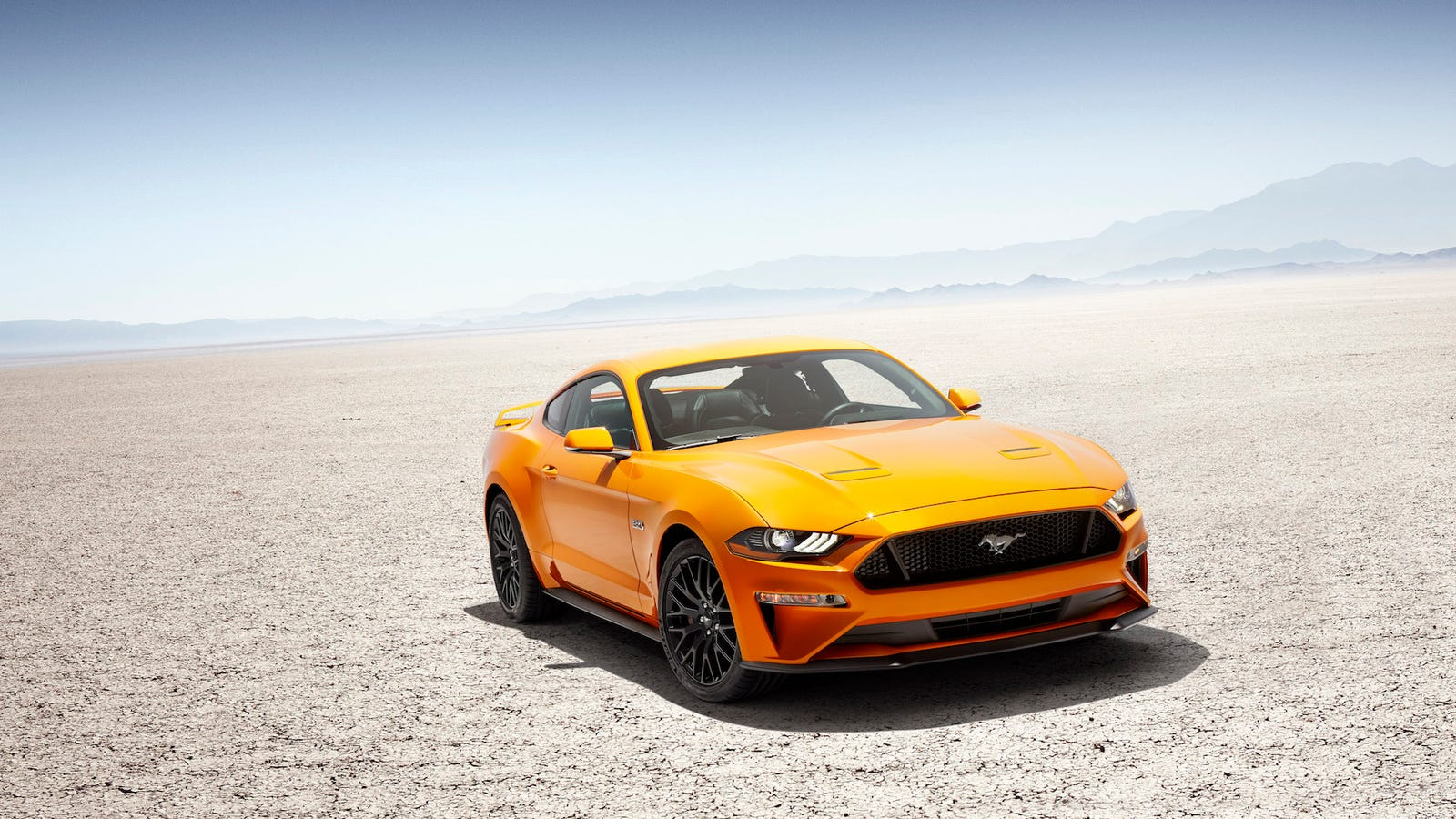 Ford offers mustang colored ice cream so drivers can eat something faster than the nearest curb