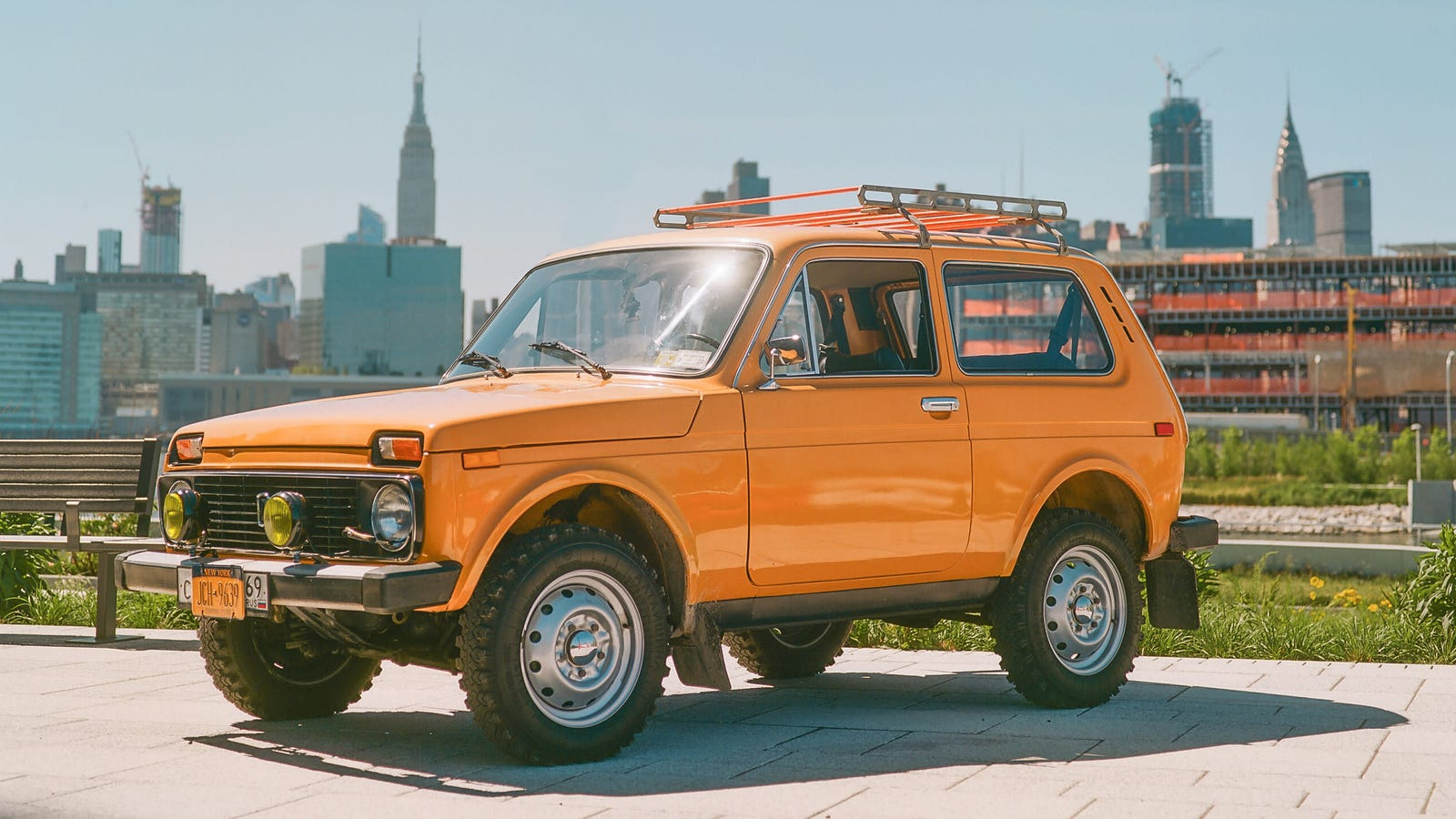 The Story Behind The Bright Orange Soviet 4x4 Rolling Through Brooklyn