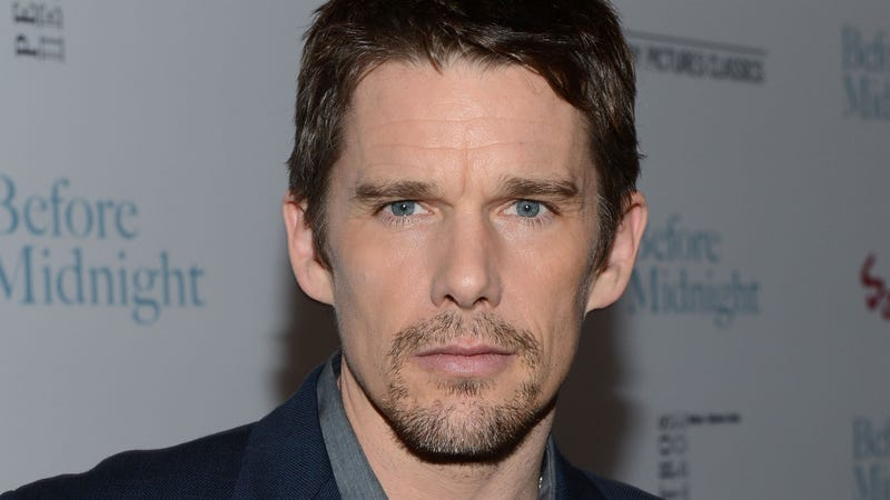 Illustration for article titled Ethan Hawke Says Angelina Jolie Is a Sexy Man-Draining Succubus