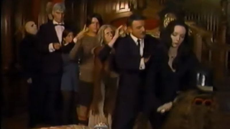 A forgotten TV movie drags The Addams Family into the 1970s
