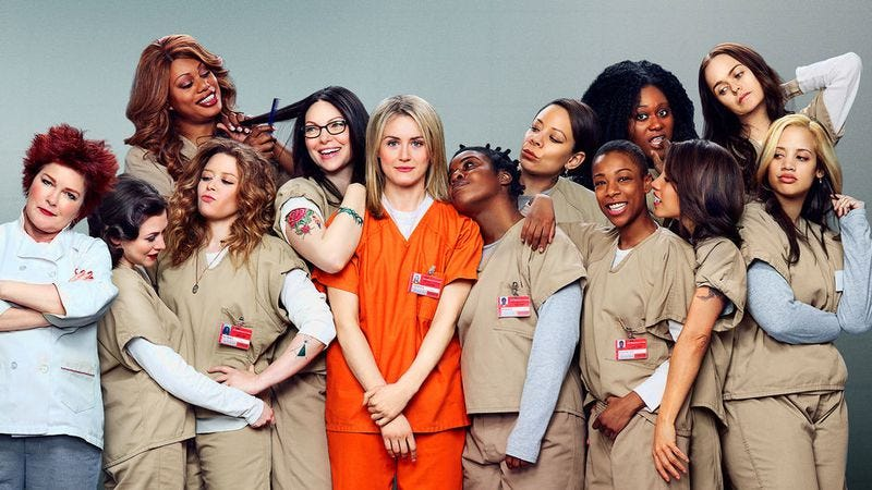 Illustration for article titled Orange Is The New Black making orange jumpsuits too cool for actual prison