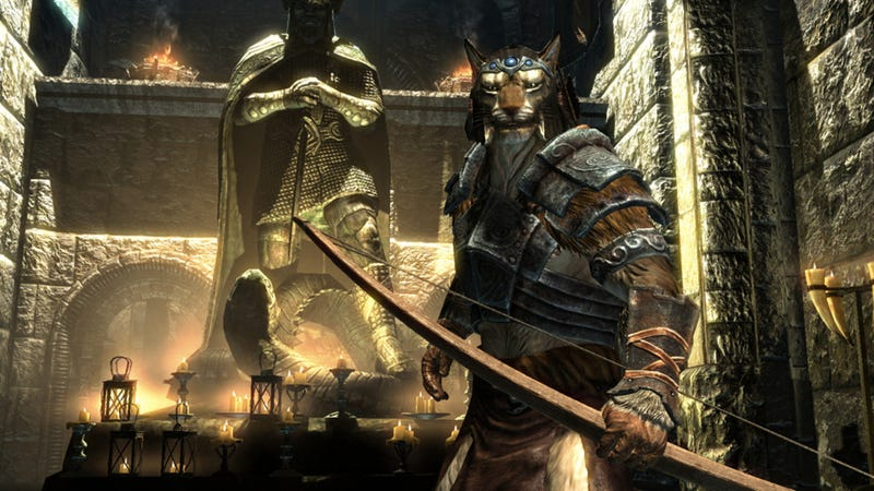 Illustration for article titled Skyrim's PS3 Version Patched. Apparently!