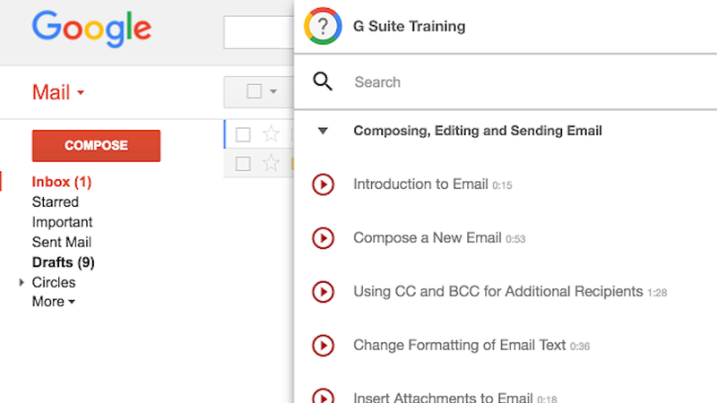 G suite training teaches you everything you need to know for Google docs free training